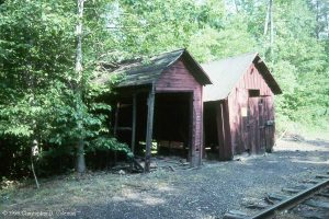 Rockhill Car Shed in 1999