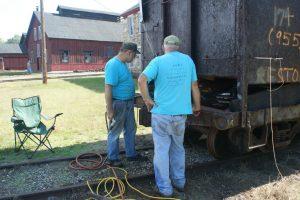 Steel replacement progresses on 174.