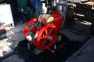 FEBT speeder engine fresh from being rebuilt